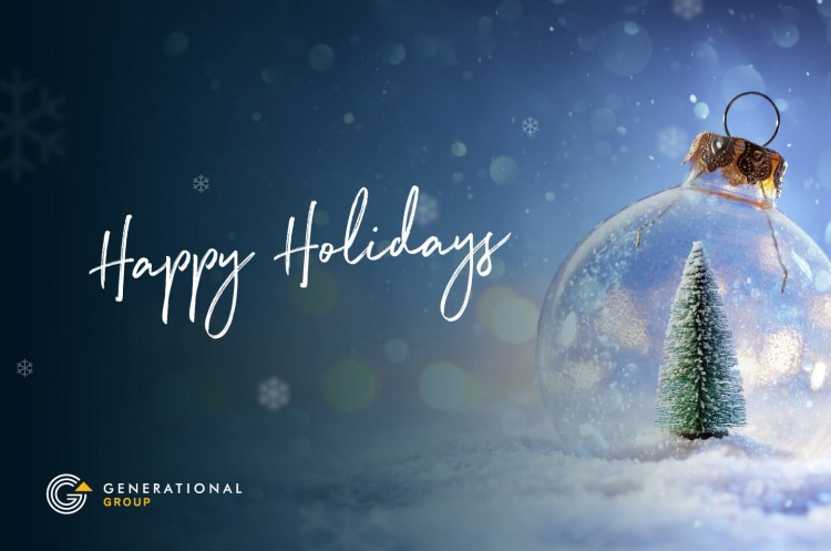 Happy Holidays Generational Equity 2019