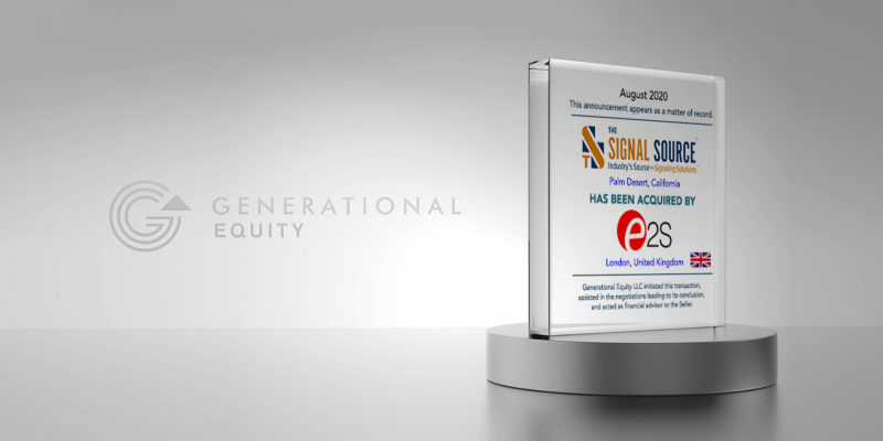 The-Signal-Source Generational Equity