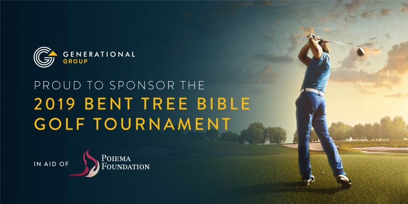 Generational Group Bent Tree Bible Golf Tournament