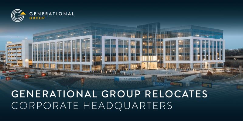 Generational Group Relocates Corporate Headquarters