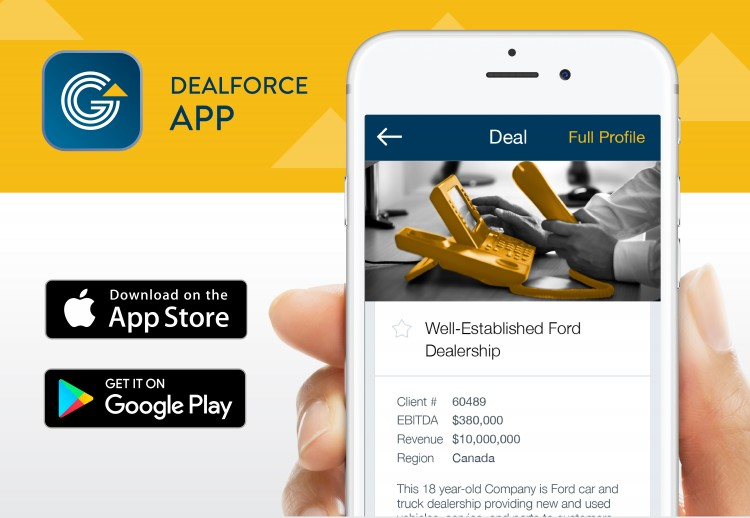 Download the Dealforce app